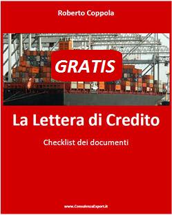 Copertina Lettera di Credito Checklist