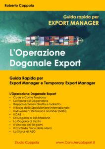 L'Operazione Doganale Export